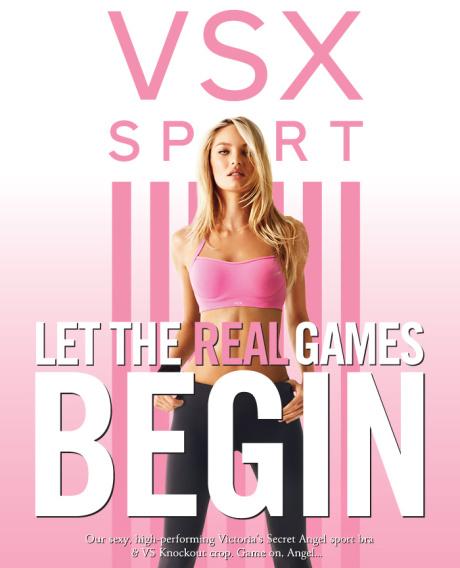 Victoria's Secret quảng bá dòng VSX mới